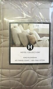 HOTEL COLLECTION DECO KING SHAM MSRP $95 NEW IN OPENED PACKAGE