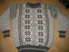 Dale of Norway Vintage  Pullover Wool Sweater-Sz52-L -VGUC