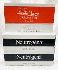 (2) Neutrogena Rapid Clear Stubborn Acne Spot Gel, 1 Oz EXP AUG 2021