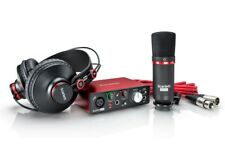 Focusrite Scarlett Solo Studio Pack - Kit with Sound Card Microphone Headset