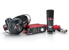 Focusrite Scarlett Solo Studio Pack - Kit con Scheda Audio Microfono Cuffia