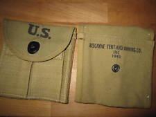 US Army Magazintasche M1911 A1 SEMS 1943 Carabine Karabiner Paratrooper WWII WK2