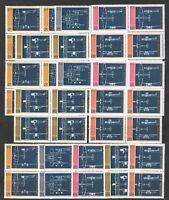 DEALER STOCK SAN MARINO MNH 1973 Aircrafts 5v 10 SETS s32695