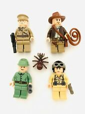 Lego Indiana Jones Lot Russian Army WW II Soldier Guards Minifigs Excelle