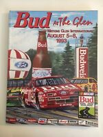 BUD AT THE GLEN RACE PROGRAM  - AUGUST 5 - 8, 1993