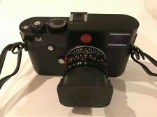 Leica M (Typ 240) Black Body + Extra Battery + electronic viewfinder. Boxed