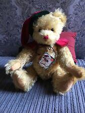 Teddy Hermann Musical Christmas Bear.