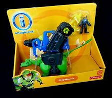 Stegosaurus Dinosaur-Fisher-Price Imaginext  (2014) Press button fire projectile