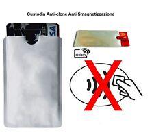 3 Custodia RFID Anti-clone Anti Smagnetizzazione Porta Carta di Credito