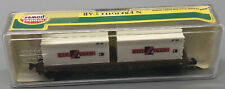 Model Power N Scale ATSF 50' Flat w/Two Sealand Containers