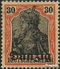 Danzig Mi.-Aantal.: 5 met Fold 1920 Germania-Afdrukken