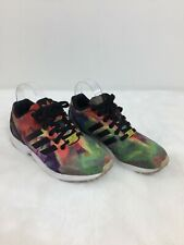 Adidas ZX Flux Smooth Multicolor Trainers Running Shoes Sneakers Womens Size 7.5