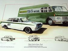 LOTUS CORTINA MK1 JIM CLARK 1964 BRSCC SALOON CAR CHAMPIONSHIP 50 YEARS LOTUS