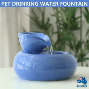 Automatic Electric Pet Water Fountain Dog Cat Drinking Bowl Waterfall Filter&USB