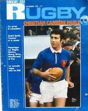Miroir du Rugby n°98 - 1969 - Christian Carrère - Le Maul Bitterois - A. Quilis