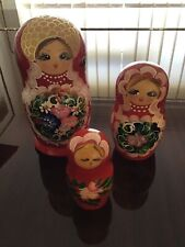 Extra Large Russian Doll Set - 3 Pieces