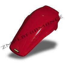 NEW HONDA 85 - 90 CR 125 MAIER RED PLASTIC REAR MOTORCYCLE FENDER CR125