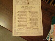 Chopin, ed Friedham: Etude in Gb, piano solo (Schirmer)