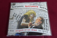 IRON MAIDEN BE QUICK OR BE DEAD + 2 DUTCH CD SINGLE