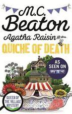AGATHA RAISIN AND THE QUICHE OF DEATH (B) _ M C BEATON _ BRAND NEW _ FREEPOST UK