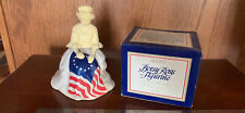 Vintage 1976 July 4 Betsy Ross Figurine In Box Topaze Cologne