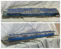 1:400 Scale USS Intrepid (CV-11) Aircraft Carrier Handcraft Paper Model Kit