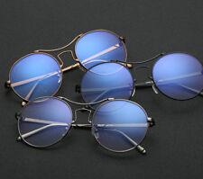 MEN Lady Eyewear Reading Glasses Metal Full-rim Myopia Glasses AB12