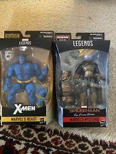 MARVEL'S BEAST X-MEN MARVEL LEGENDS / BAF CALIBAN And Mysterio