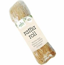 40g Natural Raffia Bundle Ribbon Reed Tie String Garden Strong Tree Plant Ties