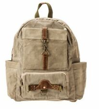 THE BARREL SHACK-THE NELSON-HANDMADE CANVAS/LEATHER BACKPACK - NEW!
