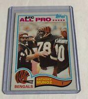 B260 - 1982 Topps #51 Anthony Munoz Rookie Bengals