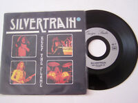 SP 2 TITRES VINYLE 45 T ,  SILVERTRAIN , KEEP THE FLAME  , VG / VG +  .