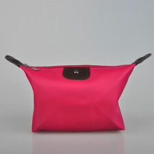 Pink Cosmetic Pouch Purse Wallet Pencil Case (276)
