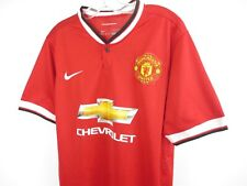 MANCHESTER UNITED 2014 2015 NIKE HOME FOOTBALL SOCCER SHIRT JERSEY FALCAO #9