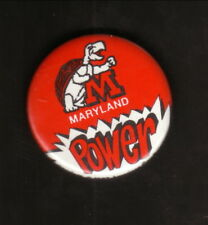 Maryland Terrapins-- Maryland Power--1987 Pin