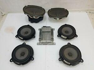 2004 - 2006 Nissan Maxima BOSE Speaker Amp Set Kit Front Rear Door Speakers All