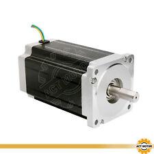 ACT MOTOR GmbH 1PC Nema34 Schrittmotor 34HS5460 6A 151mm Φ14mm Dual Flat Shaft