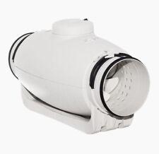 Schallgedämmter Rohrlüfter S&P - TD 500/150-160 SILENT - bis 550 m3/h - 27 dB(A)