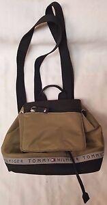 Tommy Hilfiger women mini backpack olive/black/3M lady ladies