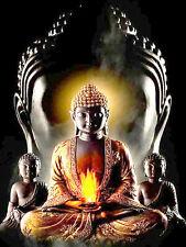 """Diamond Painting - Diamant Malerei  - """"Buddha - Vollbild"""" (4702)"""