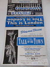 This Is London - What To Do & Where To Go Brochure - Circa 1961