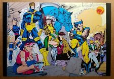 X-Men Wolverine Cyclops Gambit Rogue Psylocke Beast Comic Poster by Jim Lee
