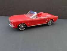 1965 Ford Mustang Convertible Red on Red 1/18 Presision 100 Die-Cast