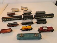 Lot trains locomotives wagons SNCF fleischmann shell