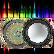 52mm 2'' 4Ω 3W ALTOPARLANTI AUDIO Stereo Speaker Loudspeaker WOOFER CASSE AUDIO