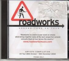 (DG553) Roadworks, Songwriters On Tour, 12 tracks various artists - 2002 DJ CD