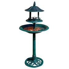 ORNAMENTAL BIRD BATH AND TABLE