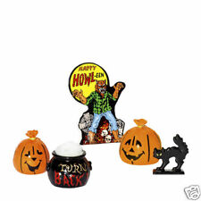 Dept 56 HALLOWEEN ACCESSORY SET OF 5 NIB D56