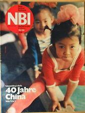 NBI 39/1989 *** China Fotostrecke in Berlin Schlachtenberg bei Bad Frankenhausen