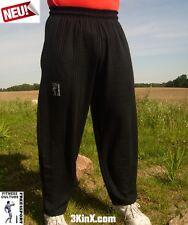 schwarze Fitnesshose G ohne Druck Bodybuilding Sporthose Freizeithose Free4Sport
